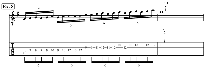 6 Note Sequences: Part 3 | Delco Guitar Academy